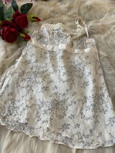 Intimissimi SILK ivory Camisole Top sleepwear nightwear size S