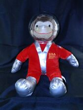 """Toy Network Curious George Astronaut Monkey 19"""" Red Space Suit Plastic Helmet"""