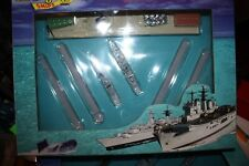 Harbour set with small harbour and 2 ships. Boxed Unopened Triang Minic Ships