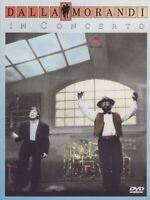 Lucio Dalla e Gianni Morandi in Concerto Dalla Morandi DVD Dallamorandi Nuovo