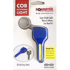 COB LED Key Light Keychain Mini Torch Outdoor Flashlight Bag Handbag Keys Blue