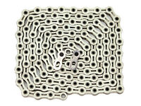PYC SP1001 Super Light 10S Bike Hollow Chain 116L Silver Lighter than KMC X10SL