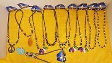 Lot Of 10 Hematite Healing Stone  Pendant Necklace- NEW HOT SALE (L18)