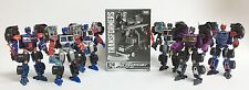 Transformers Deluxe Laser G2 Optimus Prime Set of 7 Botcon TFCC United Legends