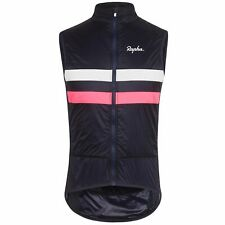 NEW Rapha Men's Insulated Brevet Gilet Vest XL Cycling RCC Navy Blue Pink