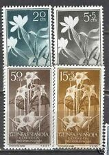 Guinea Edifil # 358-361 flowers / flowers