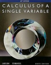 Calculus of a Single Variable Larson 9th Ninth Edition AP