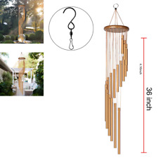 New listing Amazing Grace Extra Large Wind Chimes 36 inch Aluminum Tubes Outdoor Home Decor
