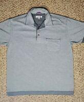 Ted Baker Men's Short Sleeve Gray Polo Shirt Size 3