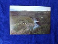 PRE STAMPED POSTCARD MILES CANYON NEAR WHITEHORSE YUKON NORTH WEST TERRITORIES
