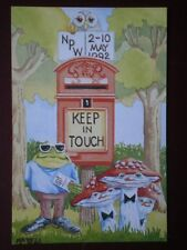 POSTCARD SOCIAL HISTORY NATIONAL POSTCARD WEEK 2 - 1992 - KEEP IN TOUCH PH TOPIC