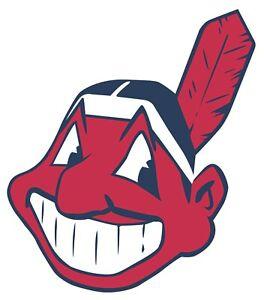 Cleveland Indians Chief Wahoo Sticker  |  Vinyl Decal  | 10 Sizes!!!