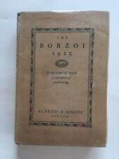 The Borzoi.25 - 1St. Ed. Willa Cather (Contributor)