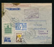 Aviation Used Air Mail European Stamps