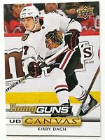2019-20 UD Series 2 - Kirby Dach Young Guns Canvas #C223 - Chicago Blackhawks