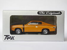 TRAX 1/43 1971 VALIANT CHARGER R/T BAHAMA YELLOW TR11D