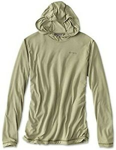 ORVIS MEN'S DRIRELEASE PULLOVER HOODIE. 5 Sizes. Moss/Green