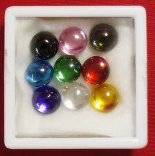 Powerful Nok Phra Gow 9 Colors Lucky Gems Naga Eye  Crystal Real Thai Amulet #R9