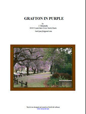 GRAFTON IN PURPLE - CROSS STITCH CHART