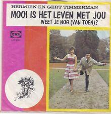 Hermien En Gert Timmerman-Mooi Is HEt Leven Met Jou vinyl single