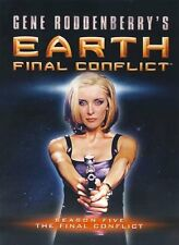 Earth Final Conflict Complete Five Season 5 Five DVD SET TV Collection Series R1