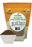 McCabe Organic Alfalfa Sprouting Seeds, 1-pound