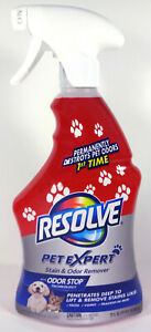 Resolve Pet Expert Stain And Odor Remover Spray (22 fl oz)