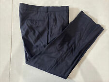 Jos. A. Bank Men's Blue Solid Wool Dress Pants 37X29 $125