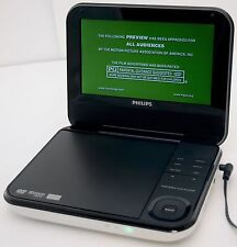 "Philips PD703/37 7"" White Portable DVD Player+Wireless Game Controller car inch"