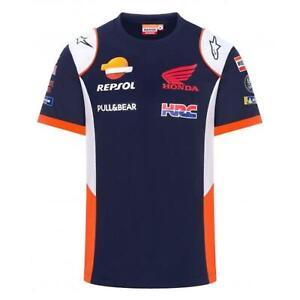 MotoGP Repsol Honda Mens Team Replica T-Shirt   Navy   2021
