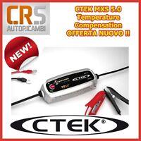 "CARICABATTERIA CTEK MXS 5.0 12 VOLT - VERSIONE"" T "" CON SENSORE DI TEMPERATURA"