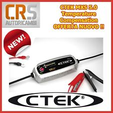 Caricabatterie CTEK EVOLUZIONE MXS 5,0 T MANTENITORE AUTO MOTO 12V con Sensore T
