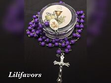 12 PCS First Communion Favors Rosary girls Rosarios Primera Comunion Gifts