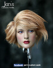 1/6 Hot CUSTOM REPAINT REHAIR toys female figure head sculpt kumik phicen girl
