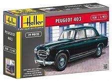 Maquette Peugeot 403 Échelle 1/43eme marque Heller Humbrol