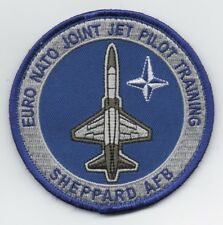 "USAF Patch 80th OSS T-38 for ENJJPT GRADUATES going on to fly TALONS, 3.5"" Size"
