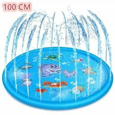 Inflatable Spray Water Cushion Summer Kids Play Water Mat Lawn Games Pad Sprinkl