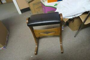 Mid Century Kindel Furniture Grand Rapids Rocking Foot Rest Ottoman
