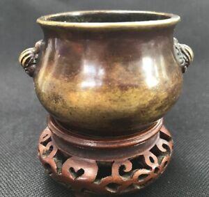 Antique Chinese / Oriental Bronze Censer, Ming Dynasty