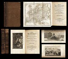 Choix de voyages dans les quatre parties du monde 1821 MAC CARTHY T 6 et 7 Carte