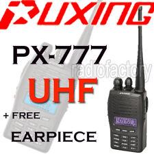 Puxing Px-777 400-470mhz Uhf Radio + Ptt Auricular Nuevo