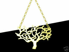 Goldtone Tree of Life Tattoo Style Necklace (Large)