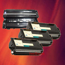 Toner Cartridge TN-560 & Drum DR-500 for Brother 4 Pack