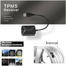 TPMS 1*Receiver+4*Internal Sensors Dynamically Monitor Tire Pressure On 4 Wheels