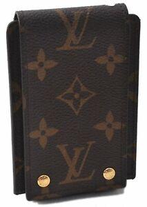 Authentic Louis Vuitton Monogram Etui Ipod Case M60024 B4535