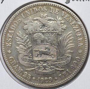 Venezuela 1929 5 Bolivares Horse animal 294248 combine