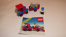 Lego: Legoland: Town System: 6654: Motorcycle Transport Loose Toy
