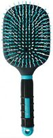 Mod Paddle Brush For Horses curvy bristles remove tangles Colors may vary