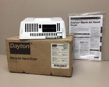 Dayton Warm Air Hand Dryer 3BU95B