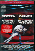 Royal Ballet Liam Scarlett Viscera Carlos Acosta Carmen Robbins Balanchine DVD
